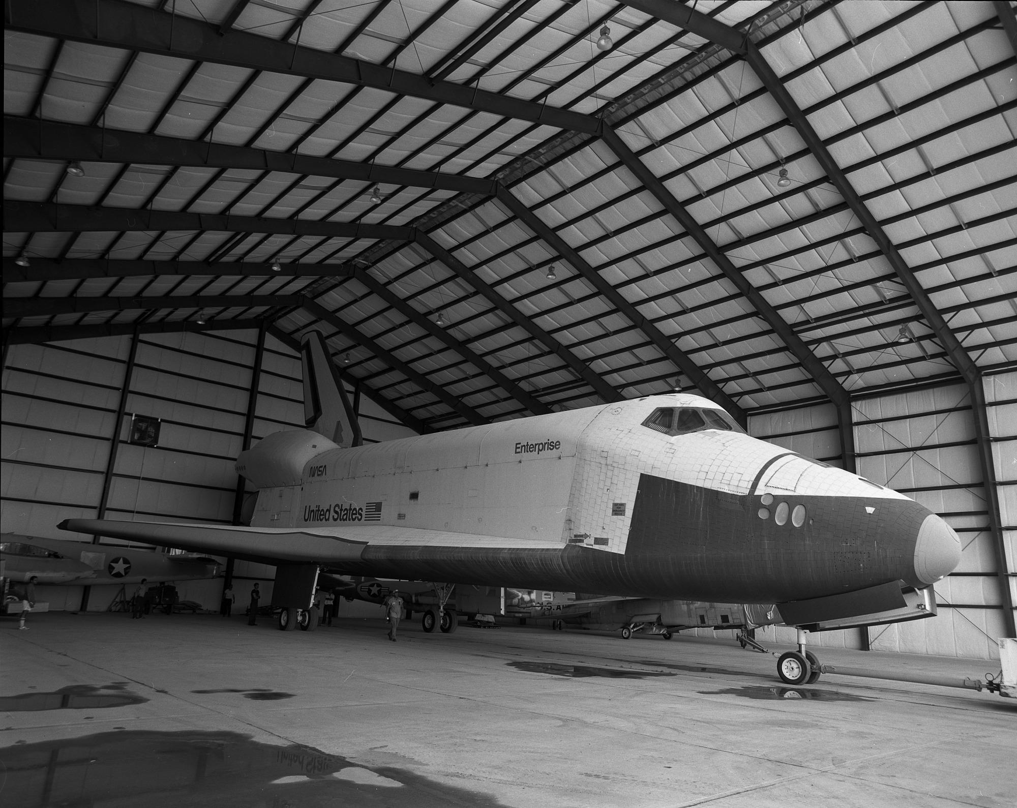 Space Shuttle Enterprise at Dulles Airport
