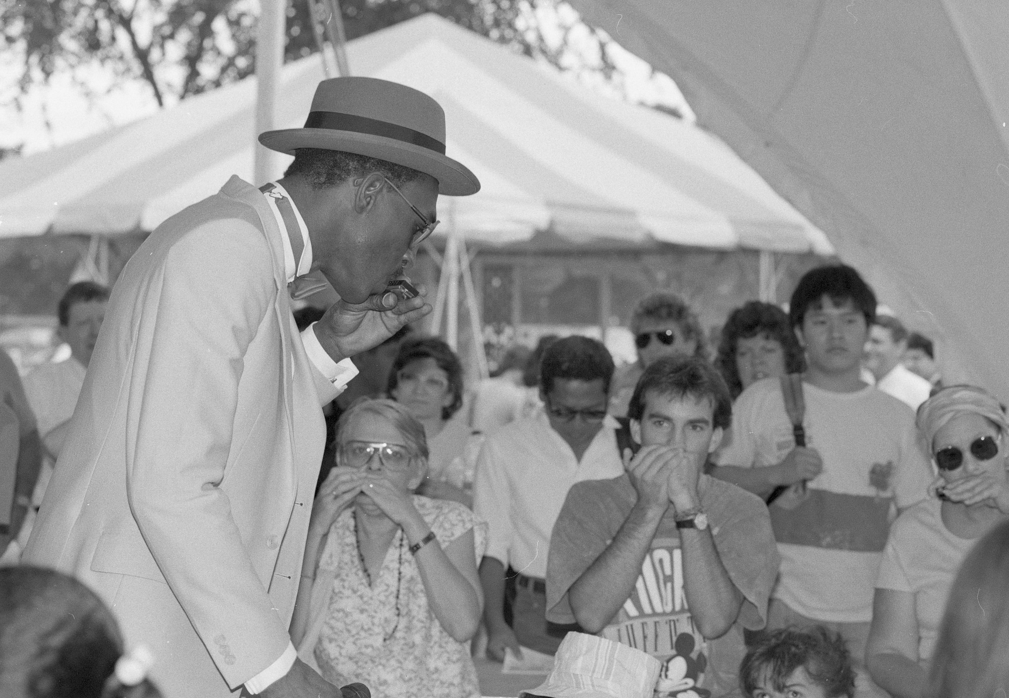 """Performer at the """"Masters of Traditional Arts"""" Smithsonian Folklife Program"""