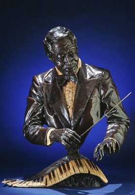 Bust of Duke Ellington