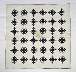 1840 - 1860 Catherine Byer's Pieced and Appliqued Quilt