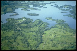 Image of Aerial View of Las Pavas for Gilberto Ocana's Experimental Farm Project, Panama, STRI