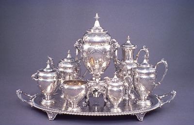 Mary Lincoln's Silver Service