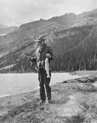 Secretary Charles D. Walcott and His Fish