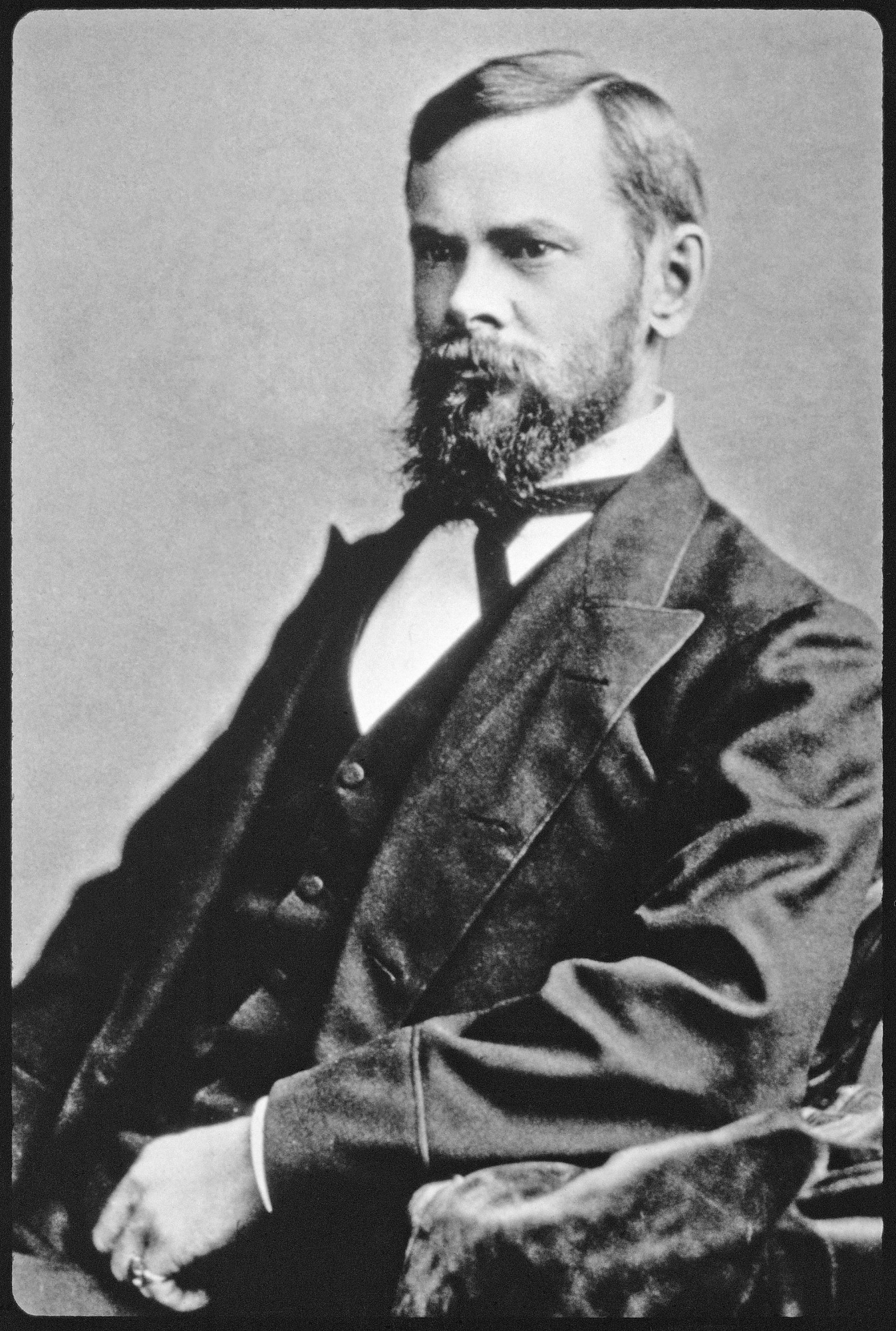 John Henry Comstock, c. 1890s, Smithsonian Archives - History Div, 90-4106.