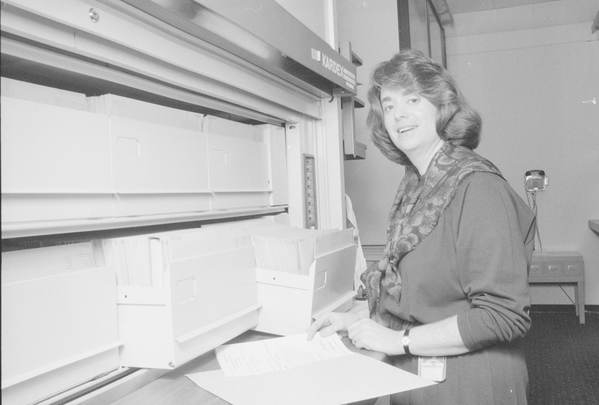 Jeanne Benas, by Strauss, Richard, 1990, Smithsonian Archives - History Div, 90-877-11A.