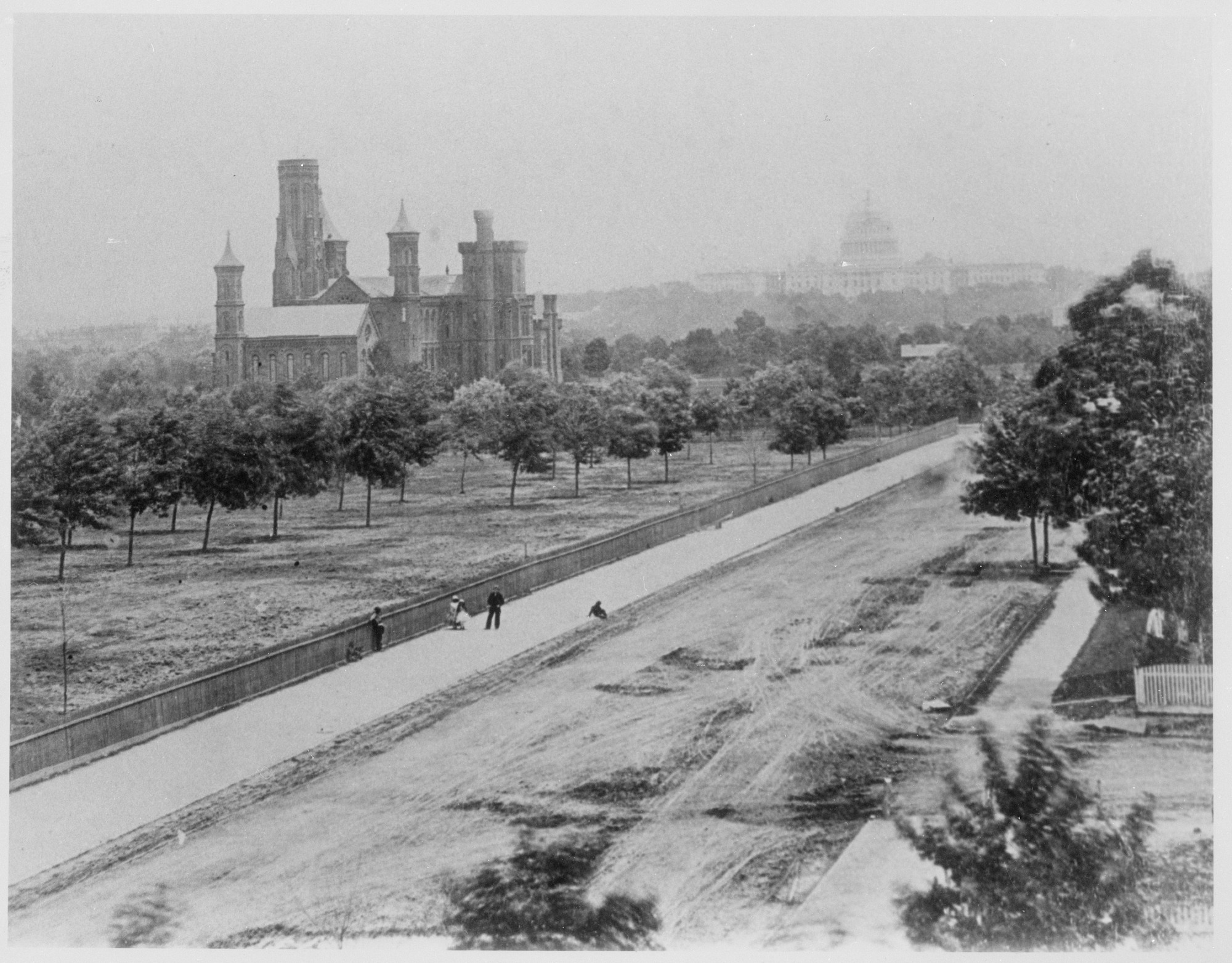Smithsonian Institution Building, 1863