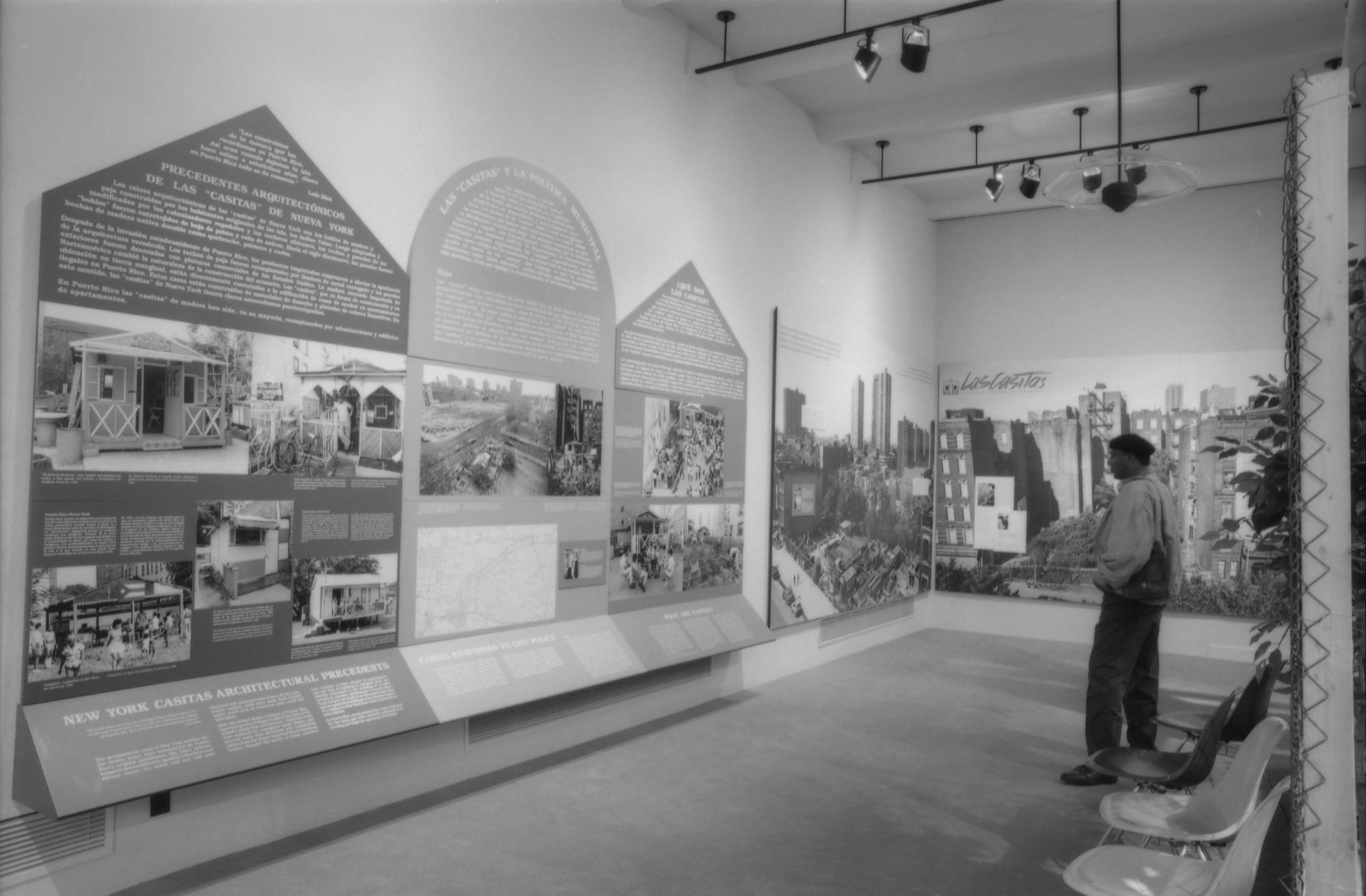 Las Casitas Exhibit, by Vargas, Rick, 1991, Smithsonian Archives - History Div, 91-3653-27.