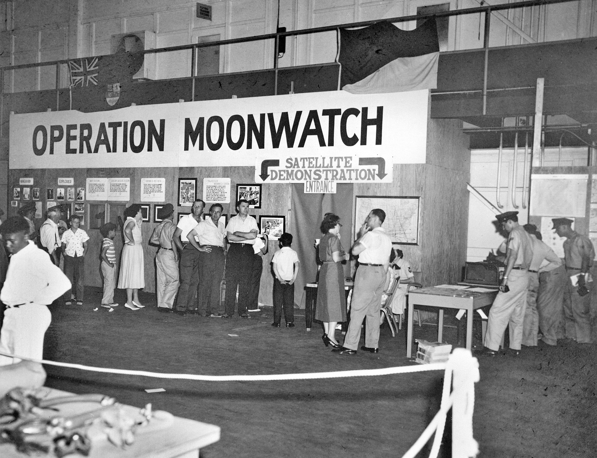 Operation Moonwatch Event, Biloxi, Mississippi