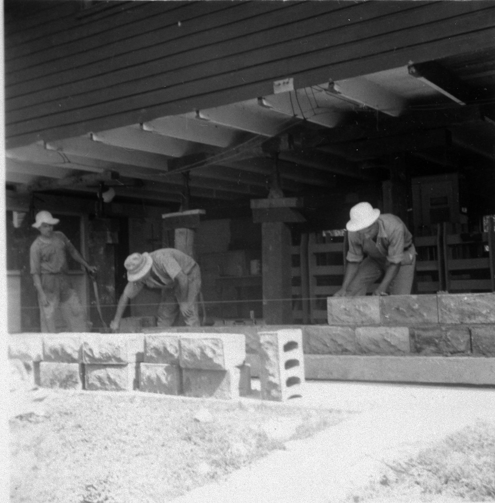 Construction work on Barro Colorado Island