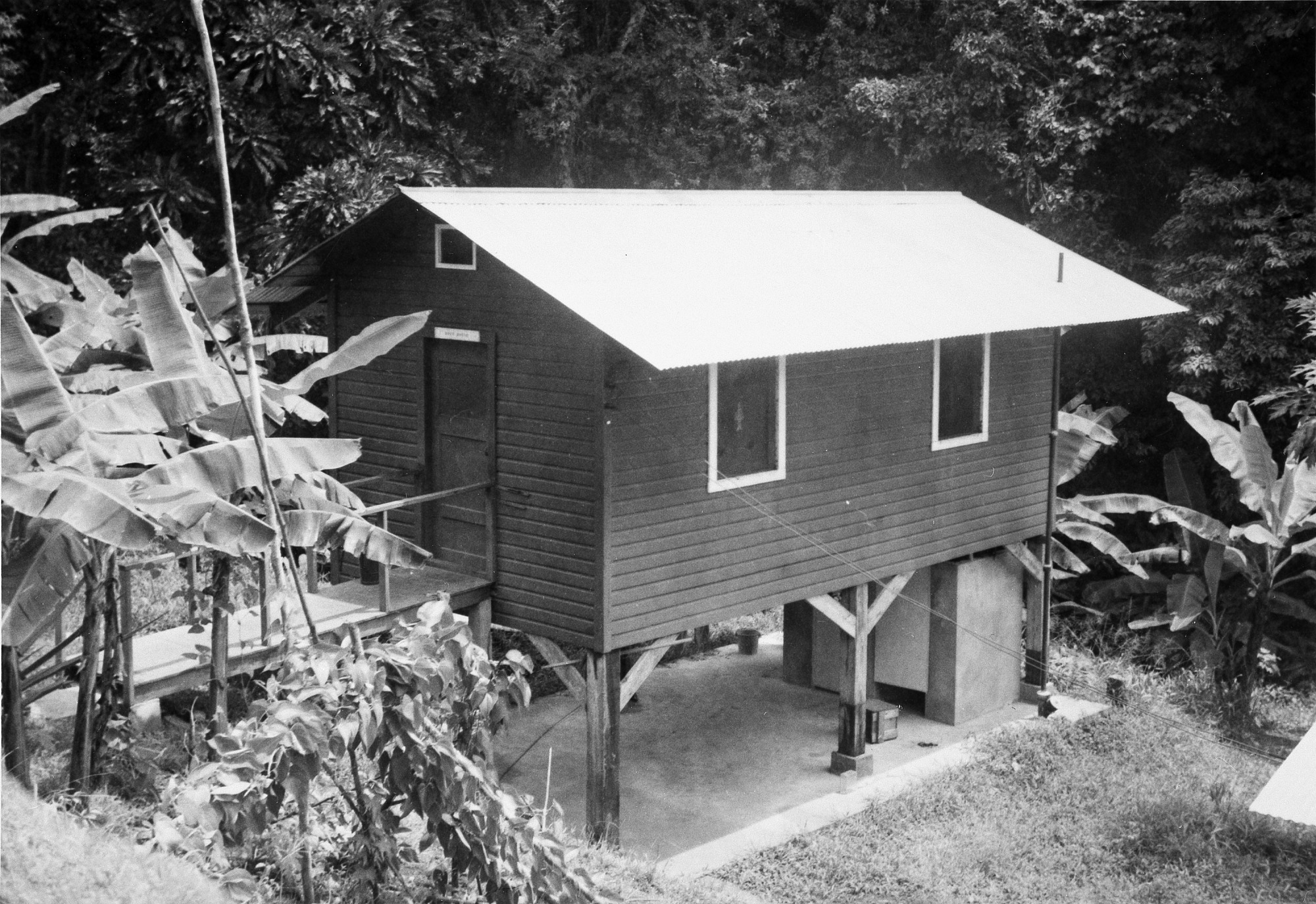 Staff House on Barro Colorado Island