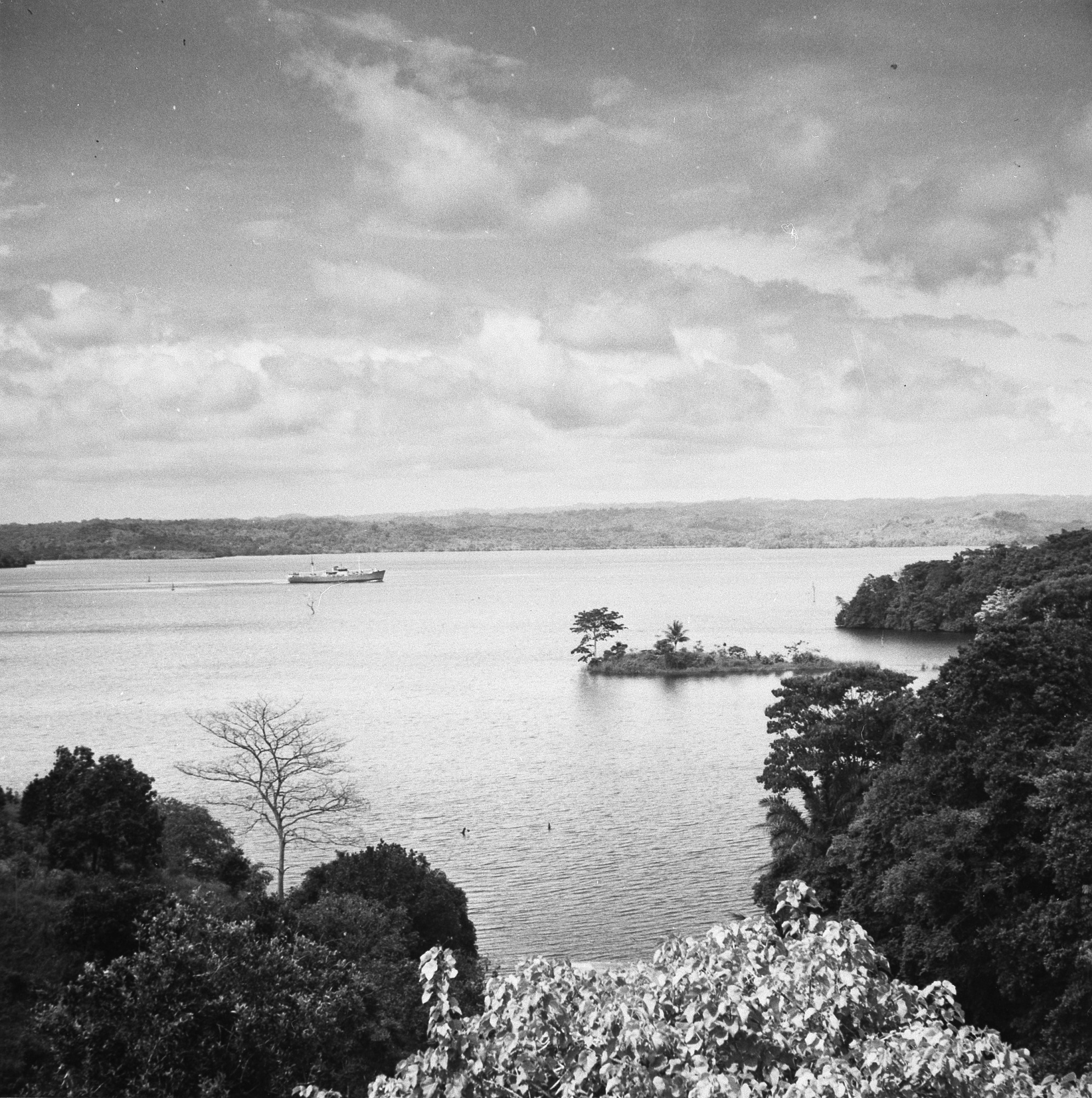 Panama Canal from Barro Colorado Island