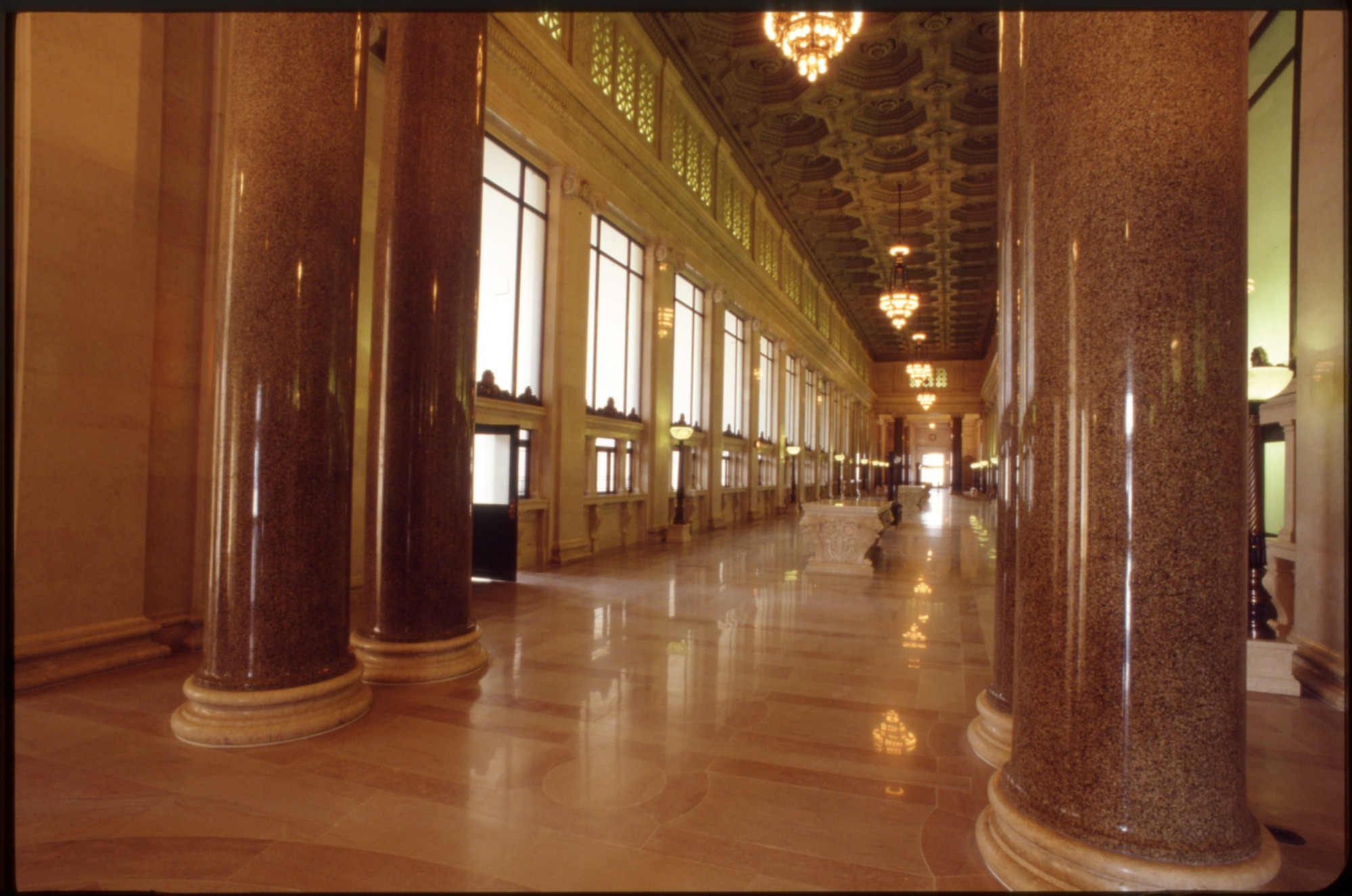 Lobby of the Washington City Post Office Building