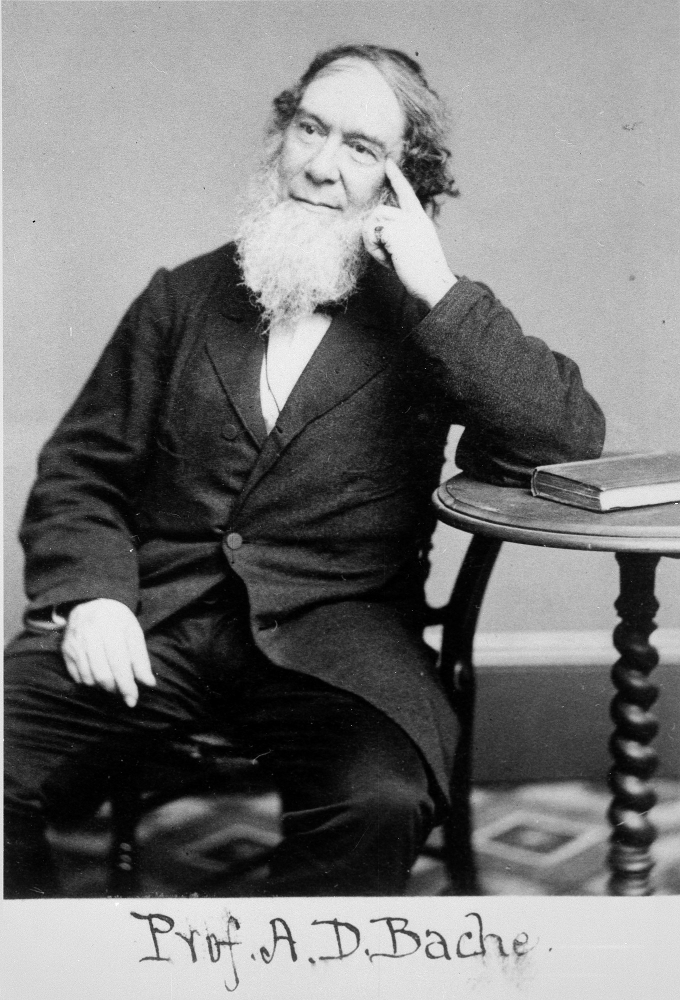 Alexander Dallas Bache, by Unknown, c. 1860s, Smithsonian Archives - History Div, 92-15742.