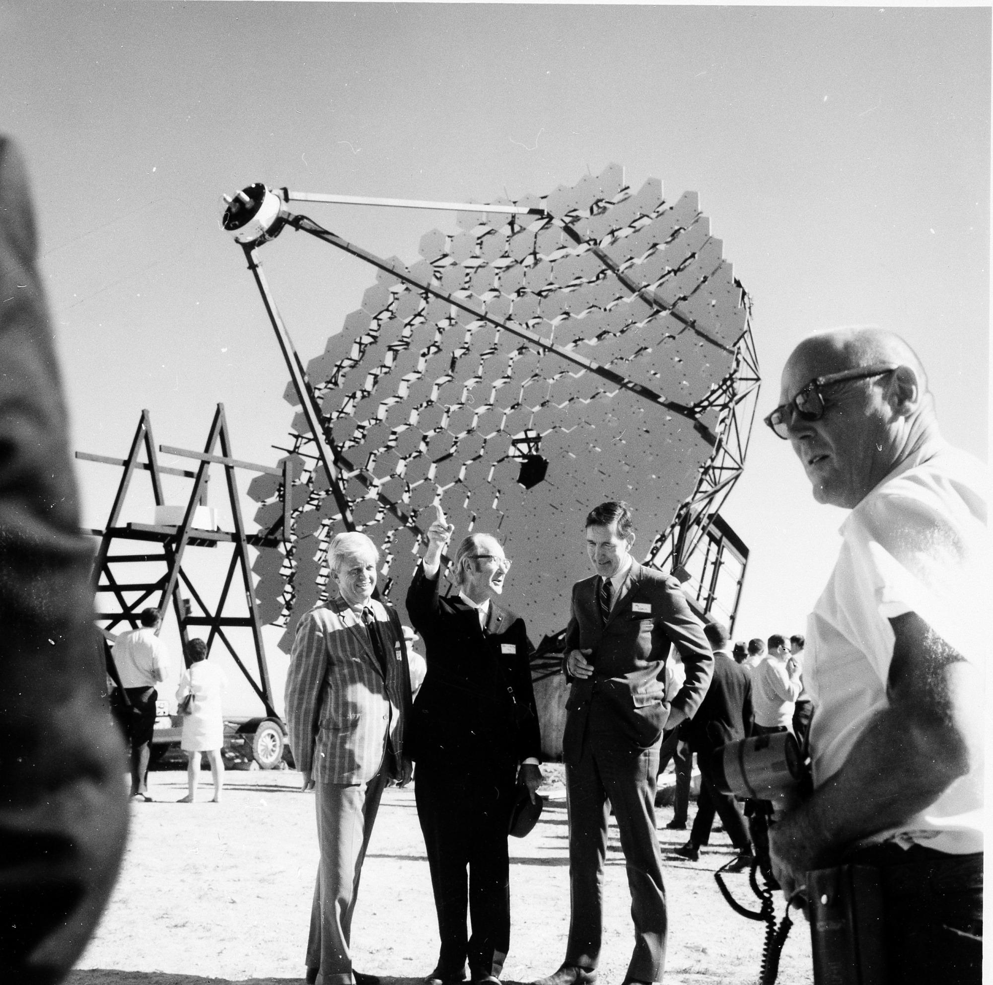 Corbitt, Whipple & Udall at Mt. Hopkins Observatory