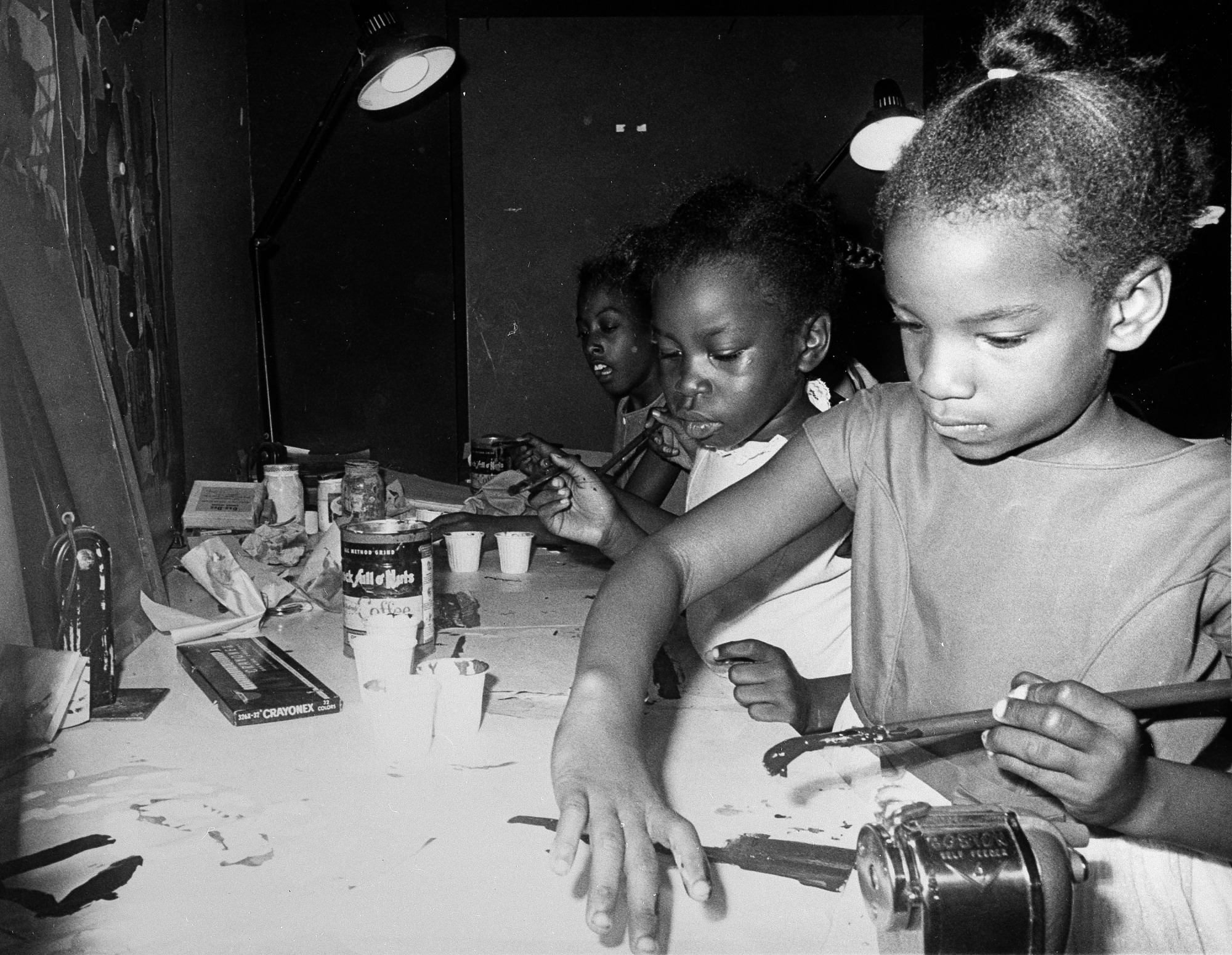 Youth Classes at ANM, by Unknown, 1968, Smithsonian Archives - History Div, 92-3567.