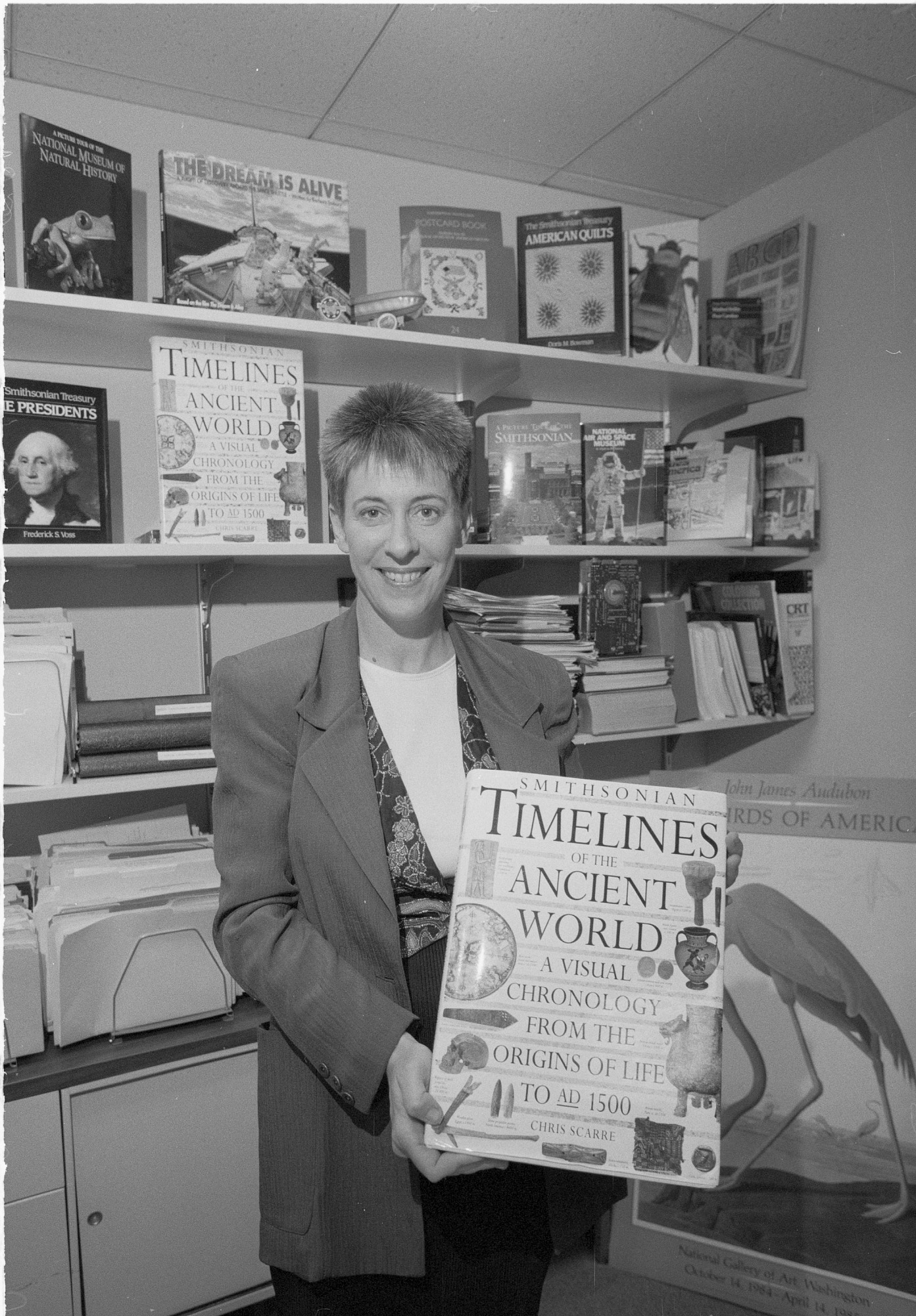 Caroline Newman, by Vargas, Rick, 1993, Smithsonian Archives - History Div, 93-13240-7A.