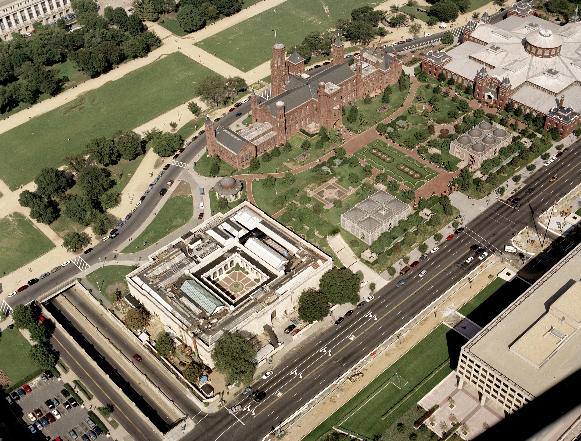 Aug 23 Aerial View of Quadrangle
