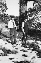 Staff at Table Mountain, California