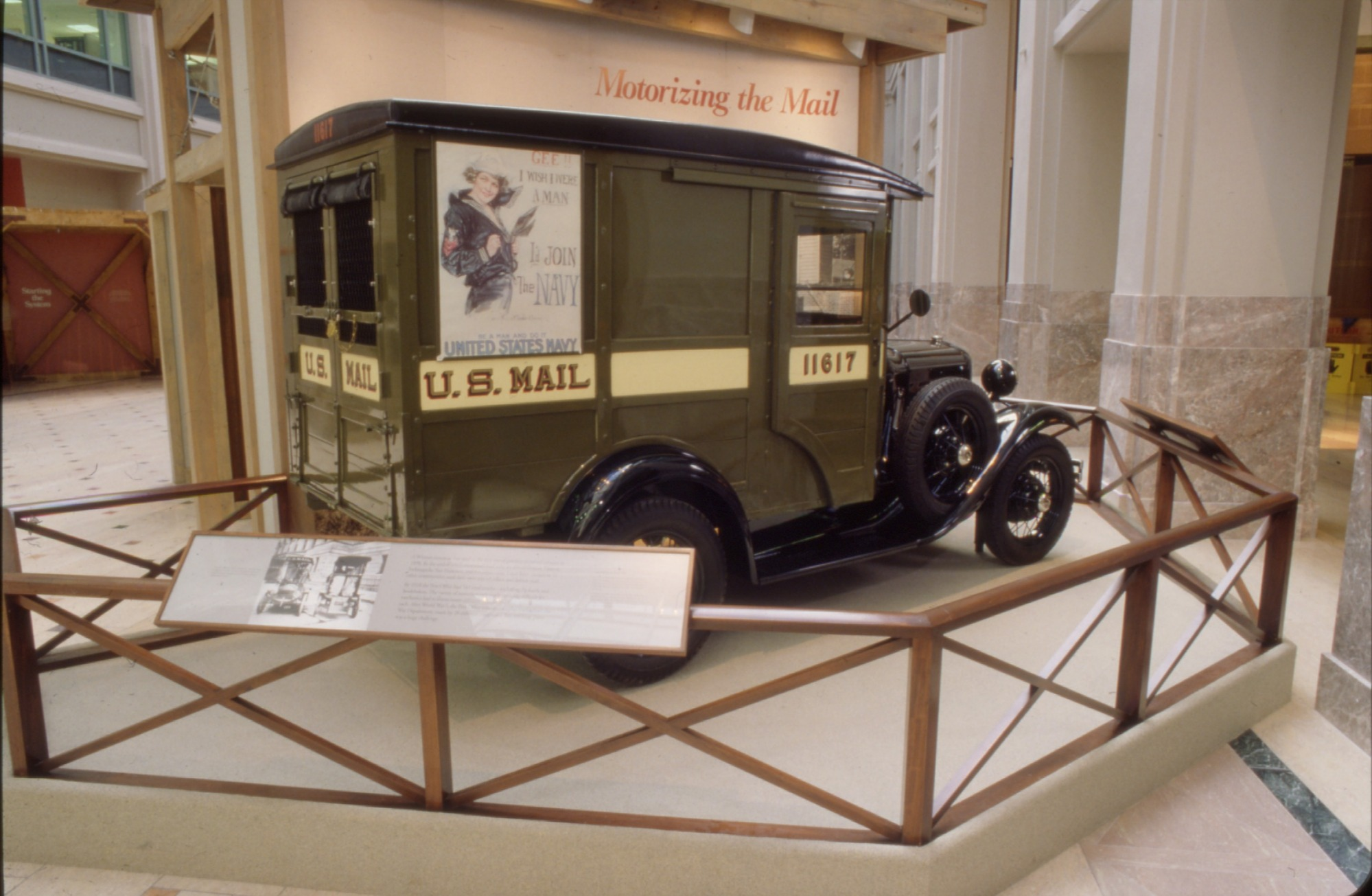 Ford Model A Mail Truck Used by United States Postal Service