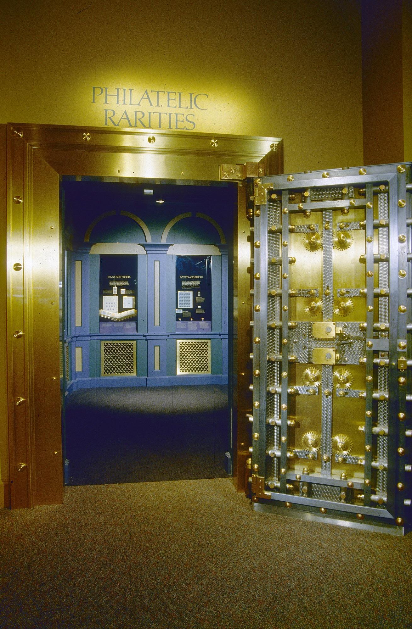 Entrance to Philatelic Rarities Vault at National Postal Museum