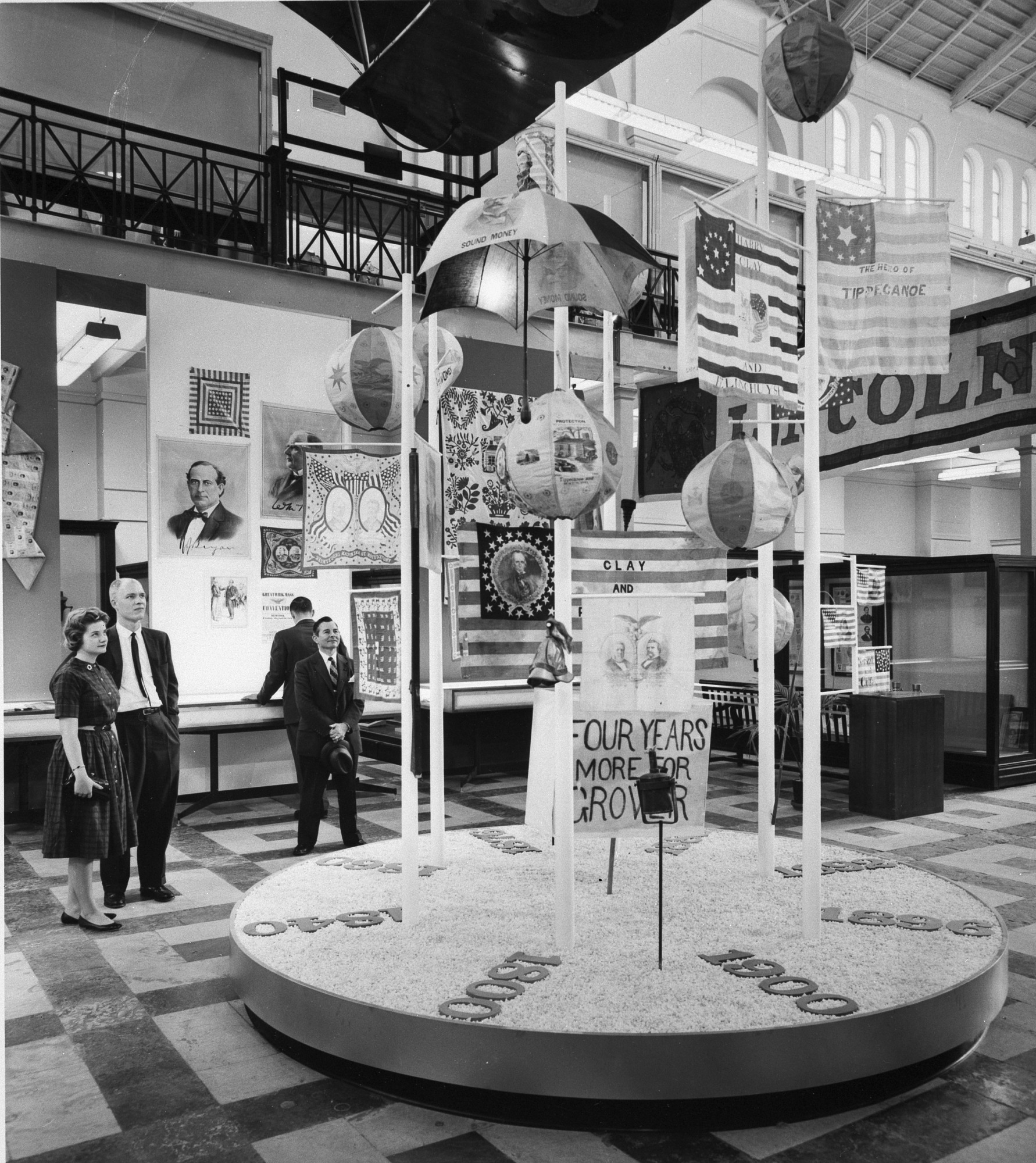 Political Campaign Exhibit in Arts and Industries