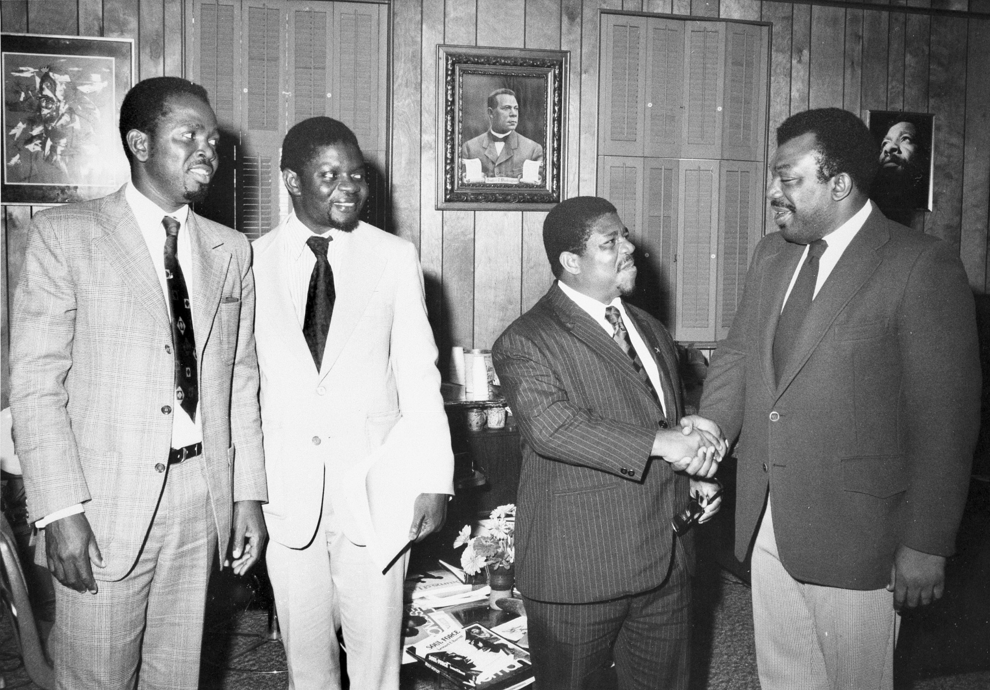 Visitors from Togo Tour ANM, August 28, 1974, Smithsonian Archives - History Div.