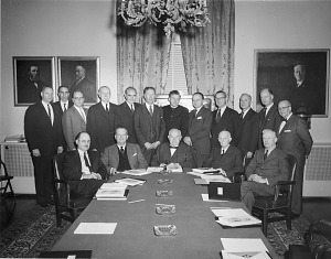 Image of Smithsonian Art Commission Meeting, 1963