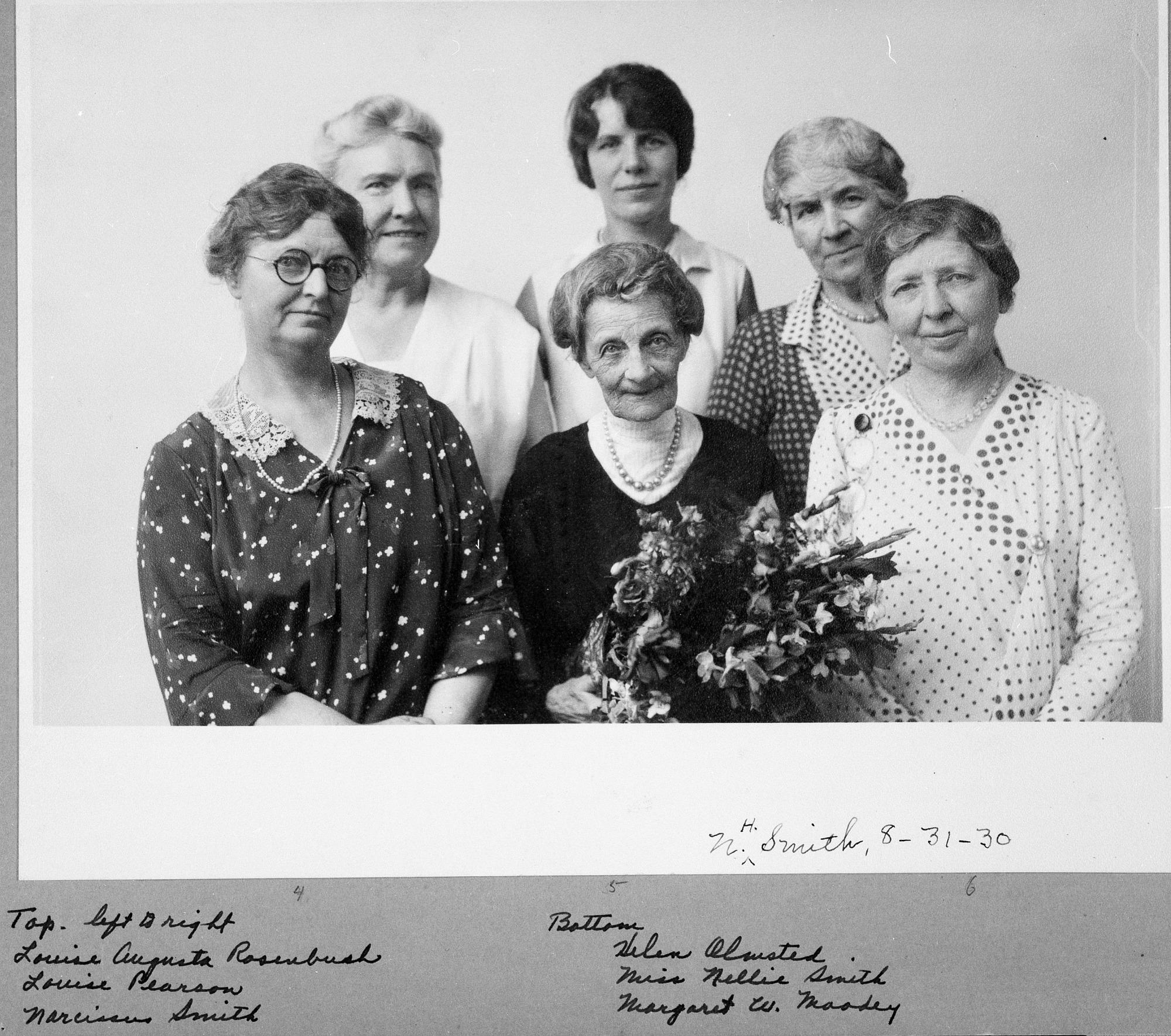 Smithsonian Secretaries and Clerks, 1930