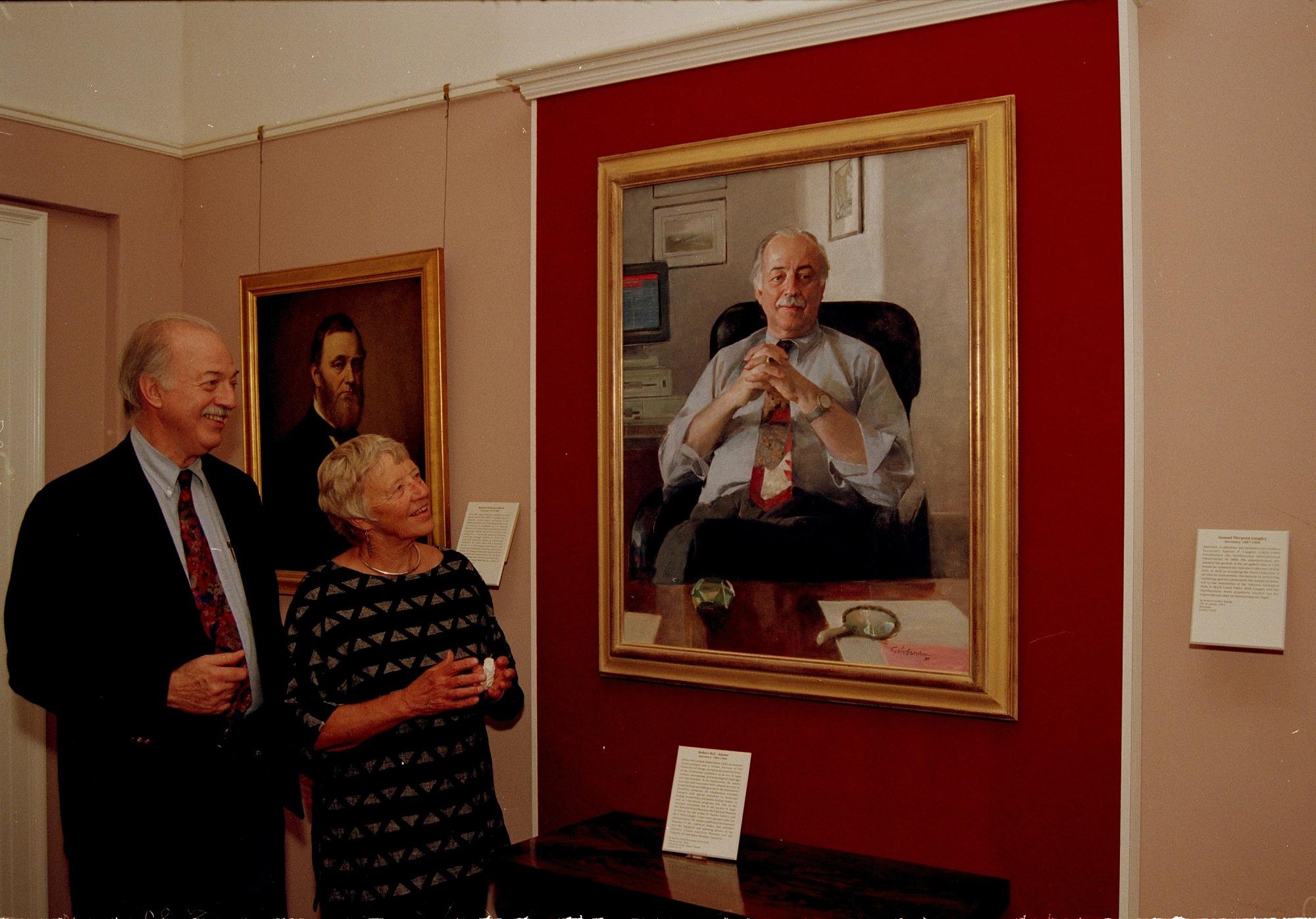 Secretary Adams and his Wife