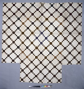 """images for 1790 - 1810 Copp Family's """"Nine-patch"""" Pieced Quilt-thumbnail 1"""