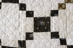 """images for 1790 - 1810 Copp Family's """"Nine-patch"""" Pieced Quilt-thumbnail 2"""