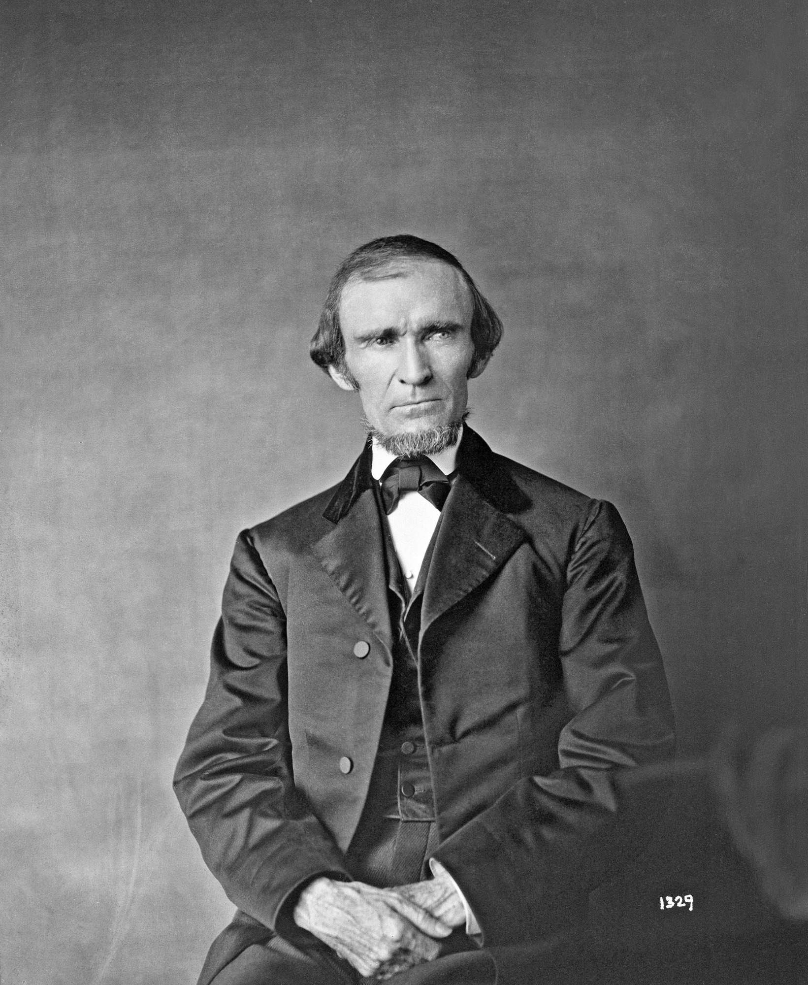 Fielding Bradford Meek, by Unknown, c. 1850s, Smithsonian Archives - History Div, 1329 or AI-1329.
