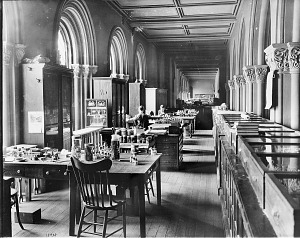 Image of Smithsonian Institution Building Great Hall Offices