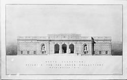 North Exterior Elevation, Freer Gallery of Art