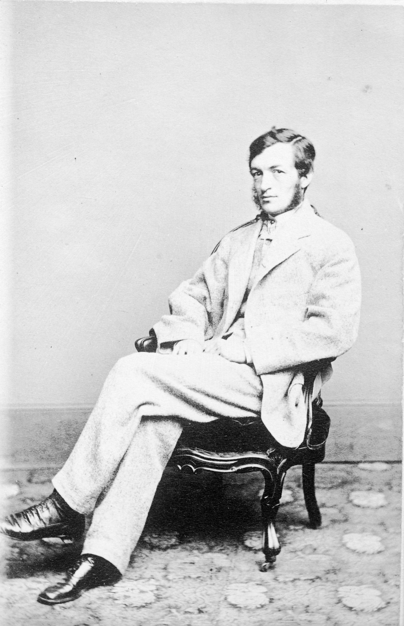 Samuel P. Langley, by Unknown, c. 1855, Smithsonian Archives - History Div, 10611 or MAH-10611.