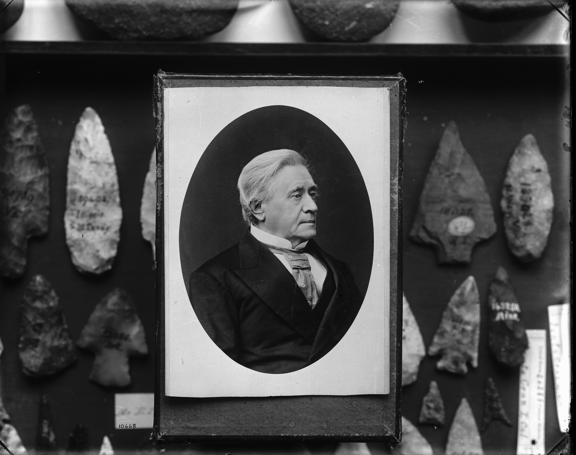 Portrait of Joseph Henry, by Fassett, 1875, Smithsonian Archives - History Div, 10668 or MAH-10668.
