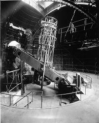 Telescope at Mt. Wilson Observatory