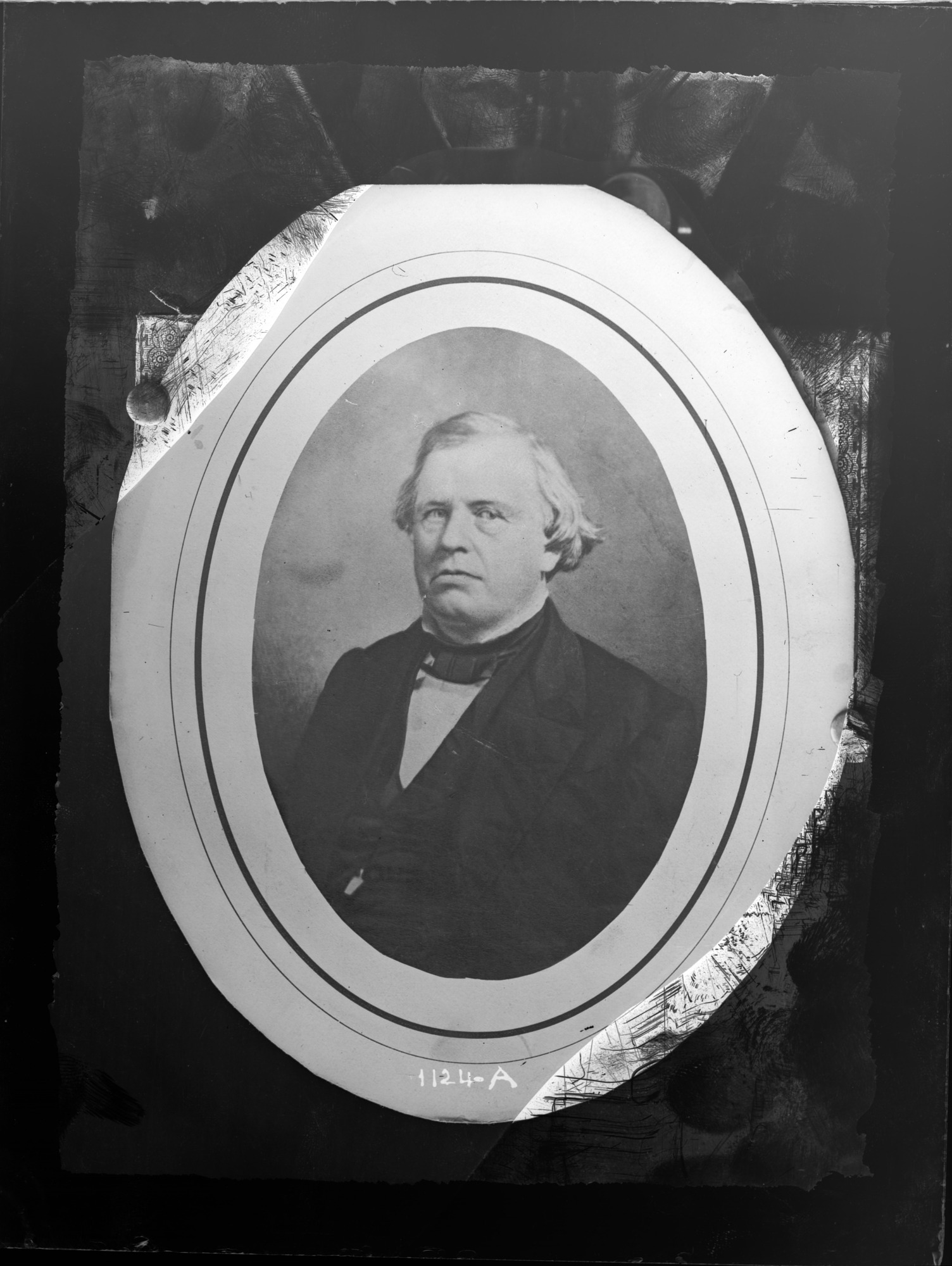 Portrait of Unidentified Man, 1880, Smithsonian Institution Archives, SIA Acc. 11-006 [MAH-1124A].