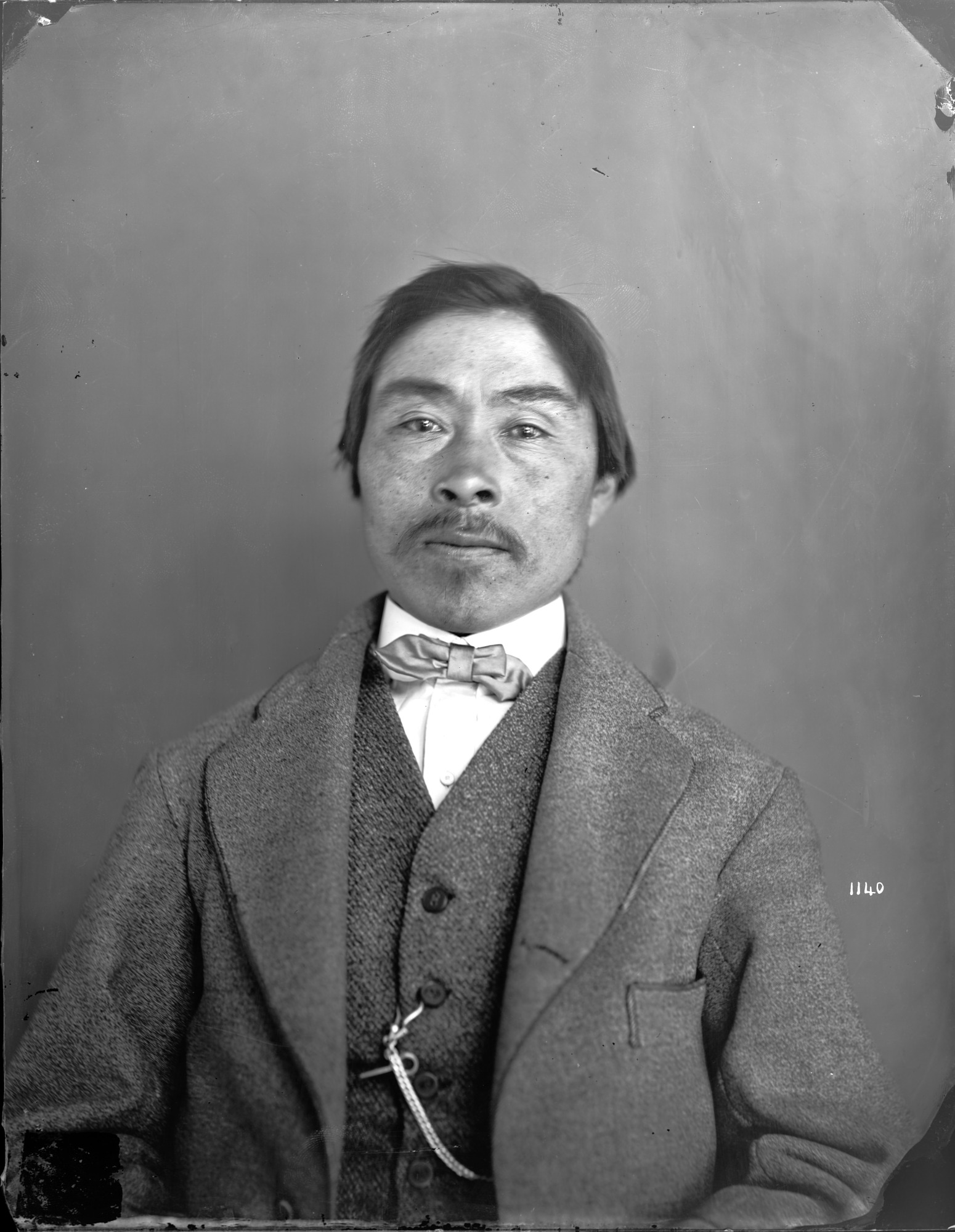 Portrait of Unidentified Man, 1880, Smithsonian Institution Archives, SIA Acc. 11-006 [MAH-1140].