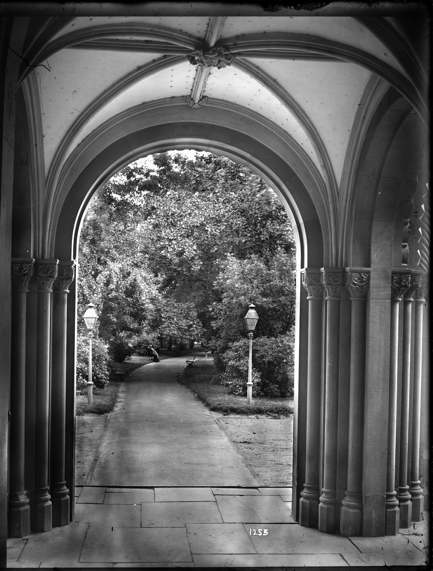 images for Smithsonian Park from North Carriage Porch of Smithsonian Institution Building