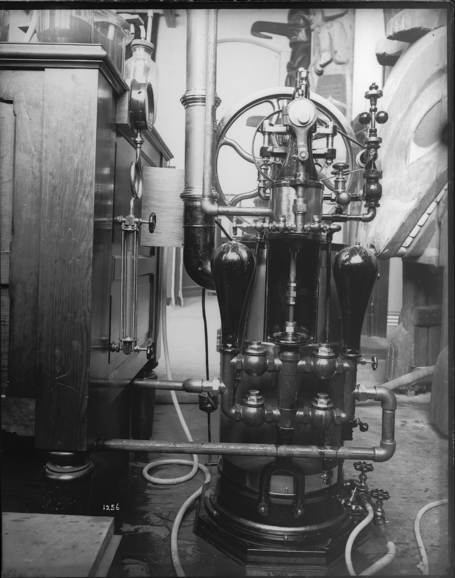 Steam Engine, 1880, Smithsonian Institution Archives, SIA Acc. 11-006 [MAH-1256].