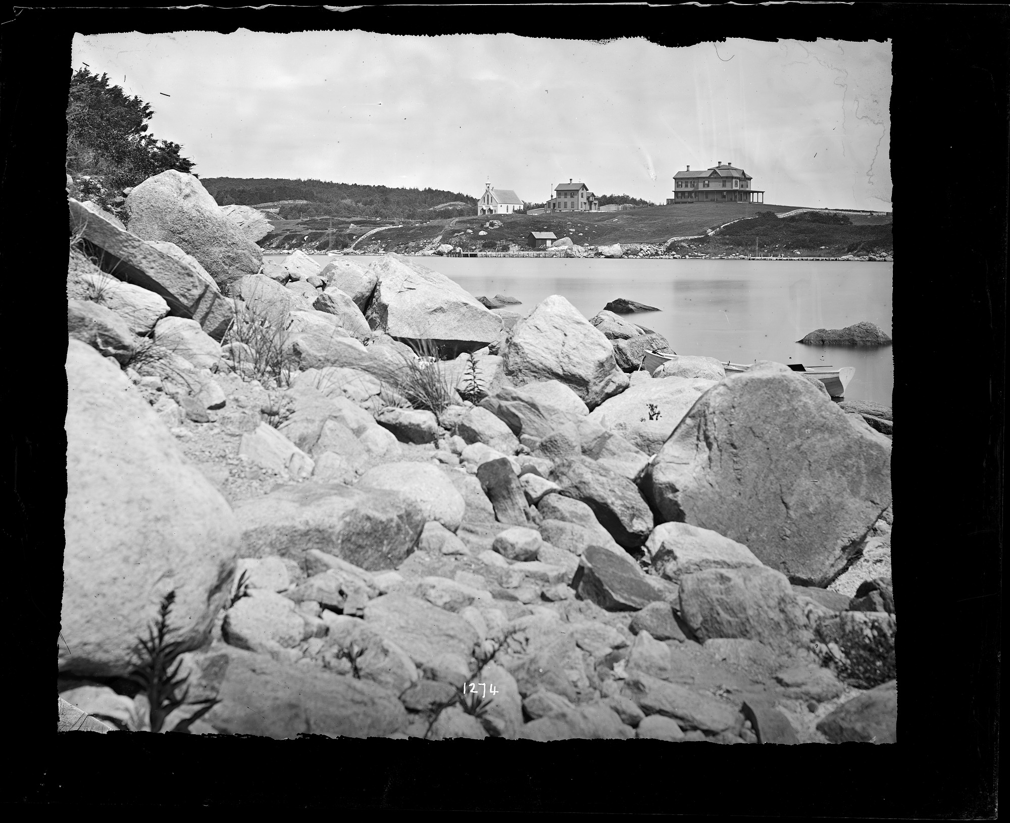Woods Hole, Massachusetts, 1870, Smithsonian Institution Archives, SIA Acc. 11-006 [MAH-1274].