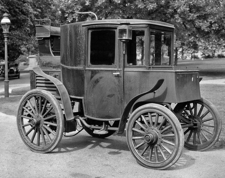 Riker Electric Automobile, ca. 1900