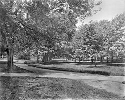 Smithsonian Park, 1900