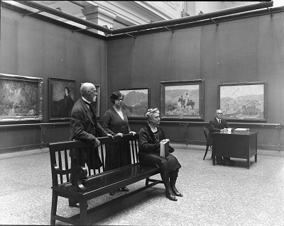 William Henry Holmes and Art Museum Staff, 1929