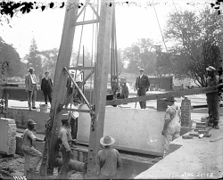 Construction of the U.S. National Museum Building, 1905