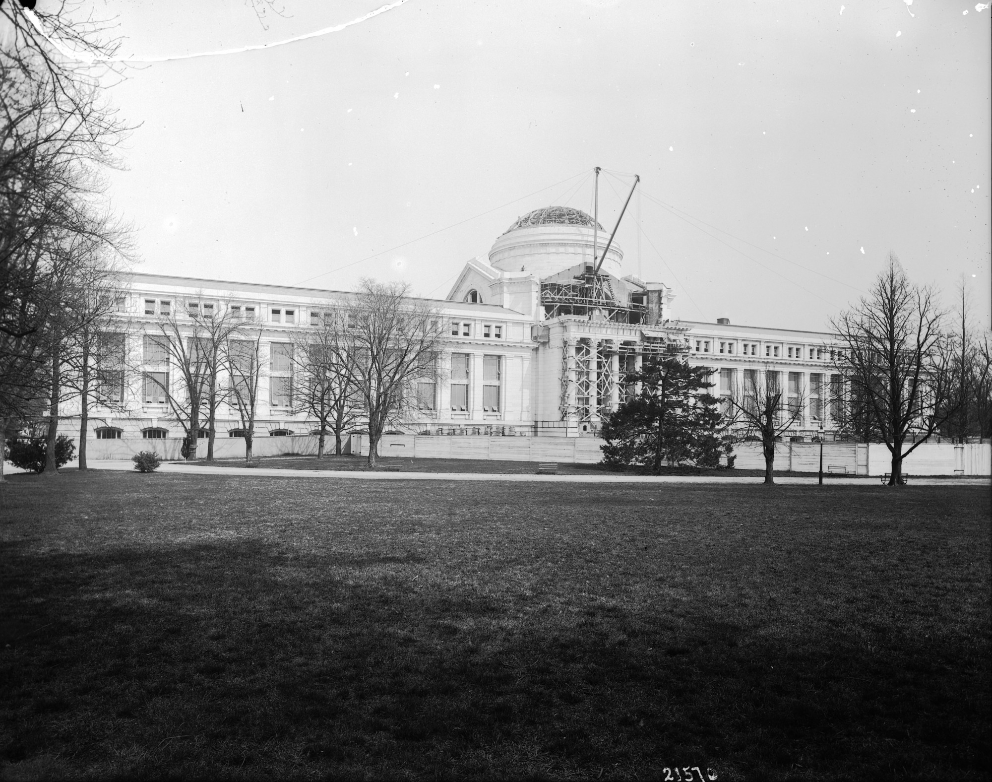 Natural History Building, Construction