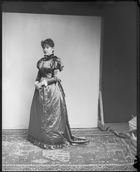 Unidentified Woman in Dress