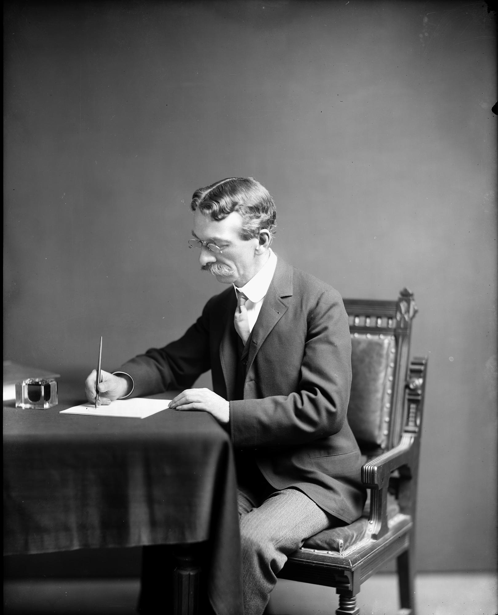 Richard Rathbun at His Desk