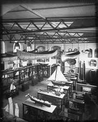 Boat Hall, U. S. National Museum